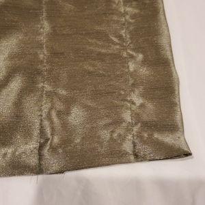 Royal Velvet Accents - 4 Green Curtain Panels